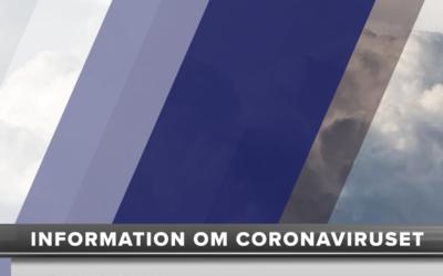 Aktuell och bekräftad information om coronaviruset
