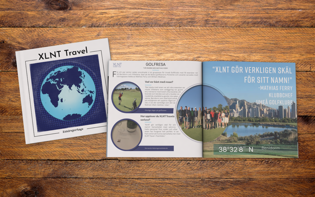 Kundreportage – Golfresa med Umeå Golfklubb