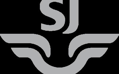 Biljett för att gå ombord på SJs tåg